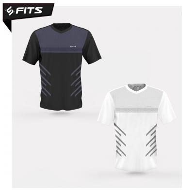 FITS Threadcool Dotmatrix Sports Shirt
